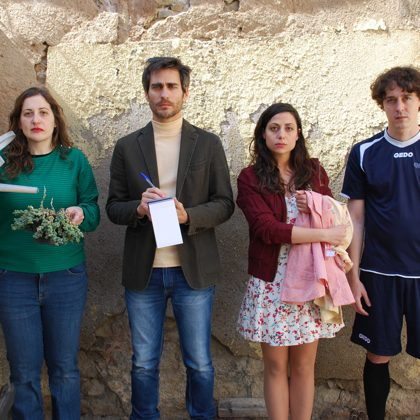 Promotional picture of the cast